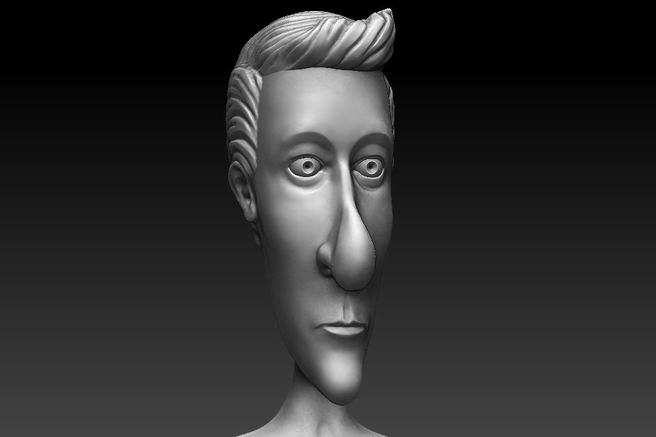 3D Character Sculpt