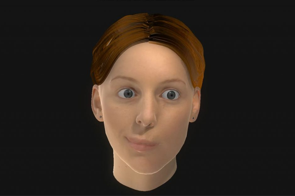Virtual Mirror Image – Facial Motion Capture